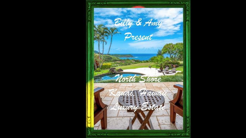 Global viewr TV wtih Amy & Billy of Kauai Hawaii